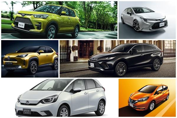 Toyota 新車帶起攻勢、Honda 10 名保 2 席,日本 10 月乘用車銷售戰況出爐!