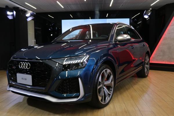 頂級跑旅 RS Q8 領軍,Audi 豪華休旅大軍登陸台灣!