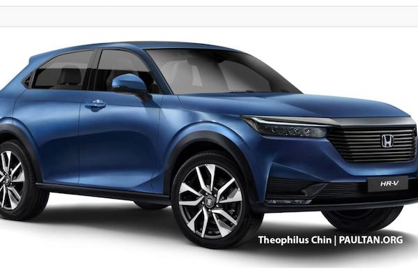 偽裝車遭拍攝,Honda HR-V 預想圖也跟著火速曝光!