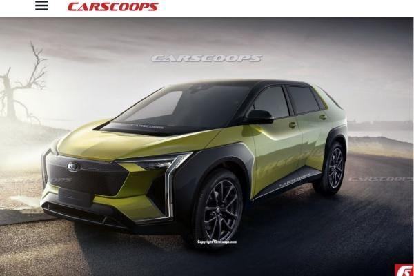 Subaru 首款電動車可能樣貌出爐,預計明年就會發表!