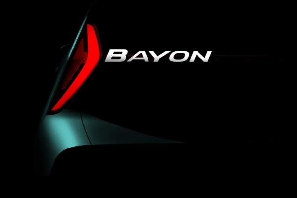 Hyundai 全新小休旅 Bayon 預告圖釋出!預計明年上半年亮相