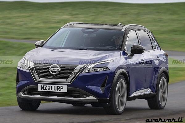 融合新 X-Trail 元素的大改款,新一代 Nissan Qashqai 內外細節曝光!