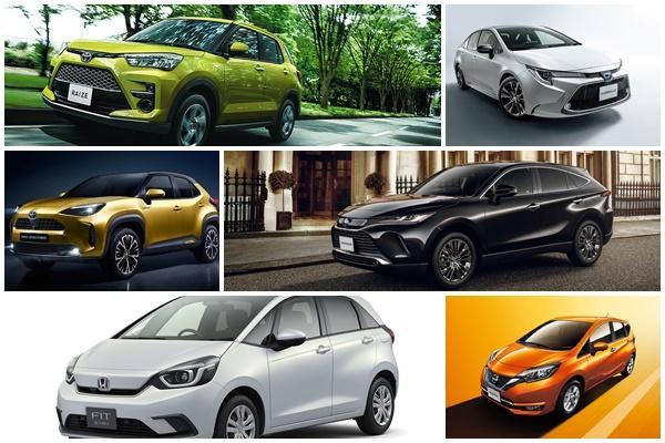 戰況一面倒!日本 11 月新車銷售 TOP 10 被「它」包辦 8 席
