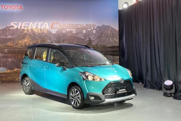 Toyota Sienta 推台灣專屬 Crossover 跨界車!升級 TSS 與 6 氣囊
