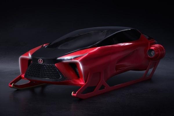 Lexus HX Concept 真面目揭曉!原來是耶誕老人的工具(內有影片)