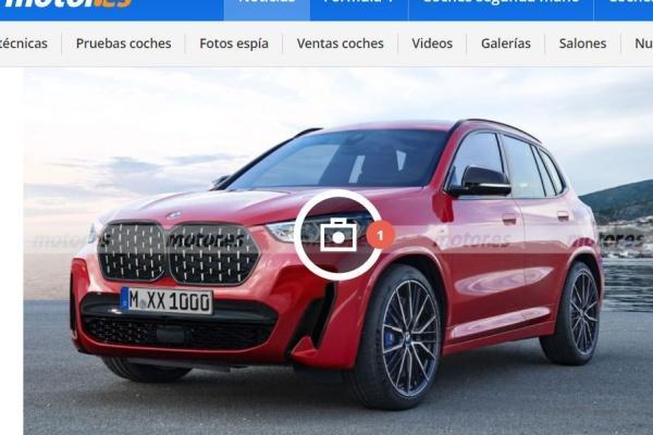 BMW 新一代入門 SUV 可能樣貌曝光,跟進換上超大「鼻孔」!