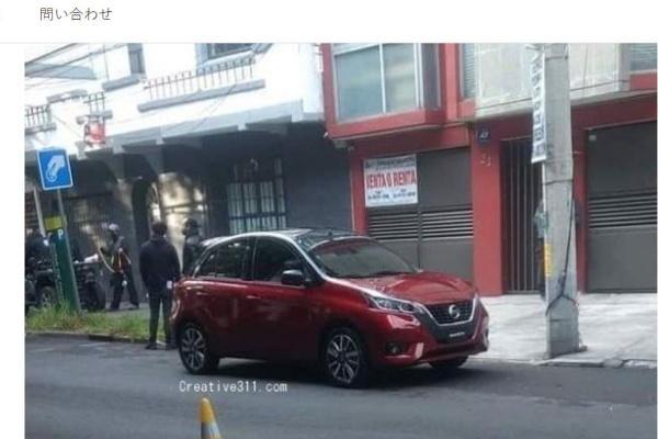 新世代 Nissan March 外觀全面曝光,一改圓潤可愛風格!