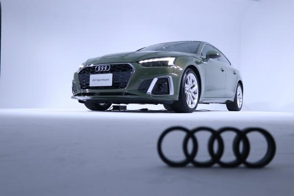美型轎跑車亮相!Audi A5 Sportback 小改款外觀與內裝全升級