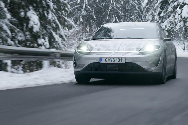 距離正式上市又更近了?Sony 首款電動車道路測試影片首度公開