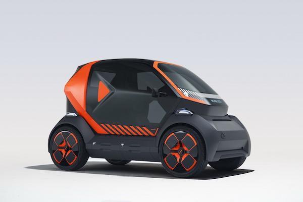 半個車位就能停的雙人電動小車亮相!採交換電池取代充電
