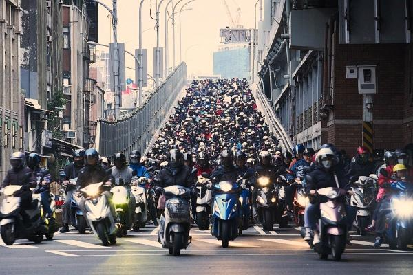 台灣 1 月機車銷售排行出爐,電動機車市佔僅剩不到 3%!