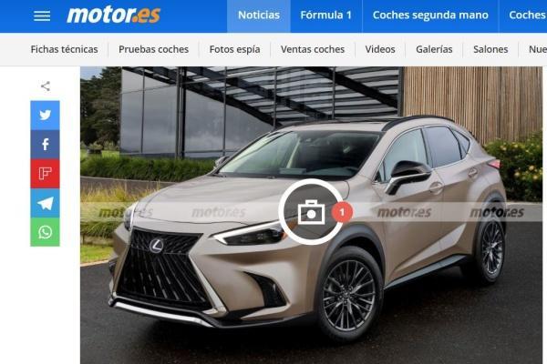 新一代 Lexus NX 最新預測外型出爐,預計 5 月就會登場!