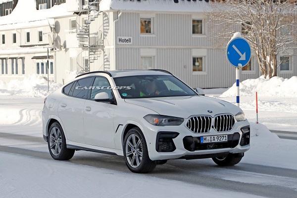 趕進度!小改款 BMW X6 初現身開始路試