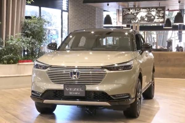 Honda HR-V 大改款正式發表!全新車頭及內裝都是亮點(內有發表會影音)