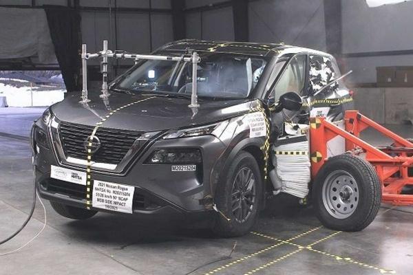 Nissan 新 X-Trail 撞擊測試 4 顆星,副駕駛防護不及格是主因!