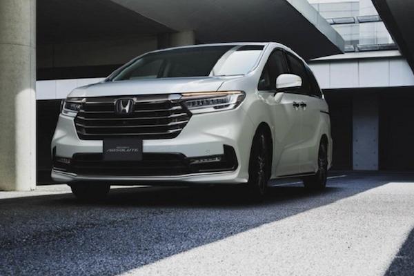 Honda Sensing 是全車系標配!Honda Odyssey 小改款發表會時間點公布