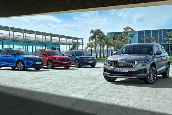 阵容一目了然,斯柯达科迪亚克(Skoda Kodiaq)小改款正式宣布!  -免费报纸汽车频道