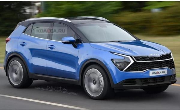 Kia 主力休旅 Sportage 大改款 6 月發表,車內換上雙 12.3 吋螢幕!