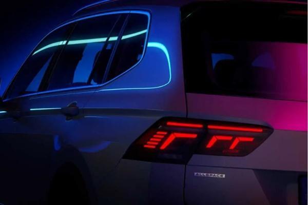 三排七人座即將登場,VW 釋出小改款 Tiguan Allspace 預告!