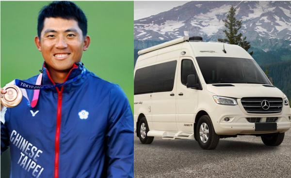 隨潘政琮征戰 PGA 的賓士露營車就是它!衛浴、床舖內部裝備曝光