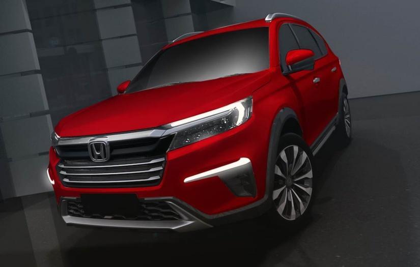 (影片)Honda 全新 7 人座 SUV 月底發表!設計圖搶先曝光