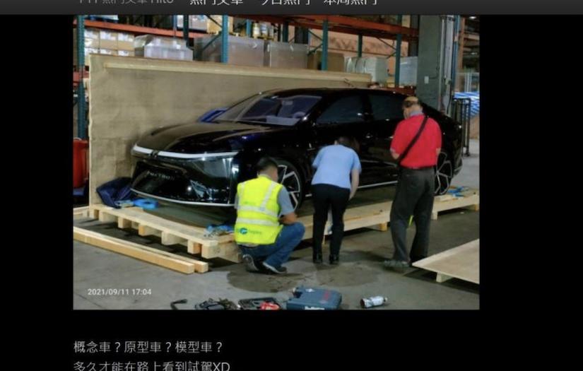 鴻海 3 款電動車究竟長什麼樣?設計藍圖提前網路曝光
