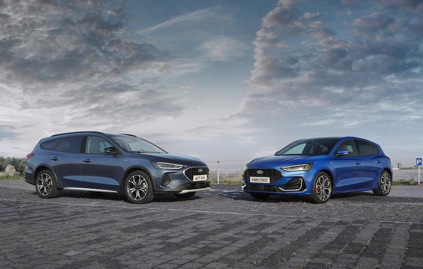 Ford Focus 小改款終於發表!輕油電、13.2 吋中控螢幕是重點