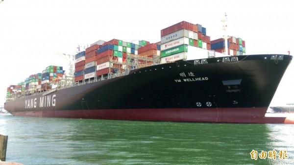 亞歐貨櫃運價擬調漲 長榮陽明第二季持續暢旺