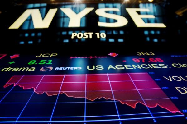 希臘將倒債嚇趴美股 道瓊重挫逾350點