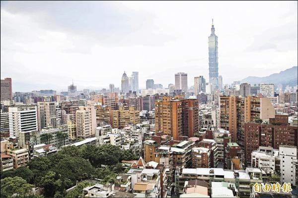 台北外商公司佔比  5年來降幅近5%
