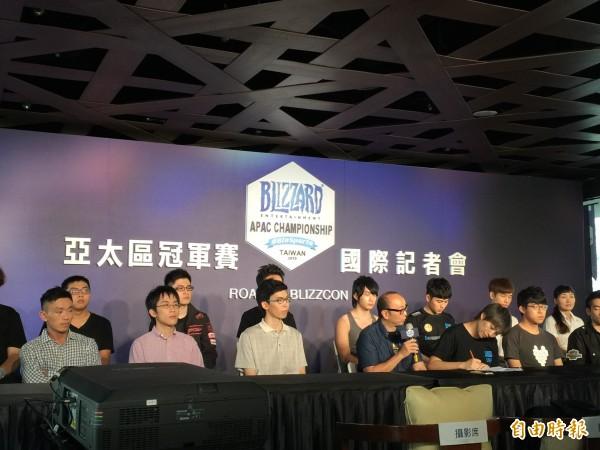 遊戲大廠暴雪(Blizzard)亞太區冠軍賽斥資千萬 首次在台舉辦
