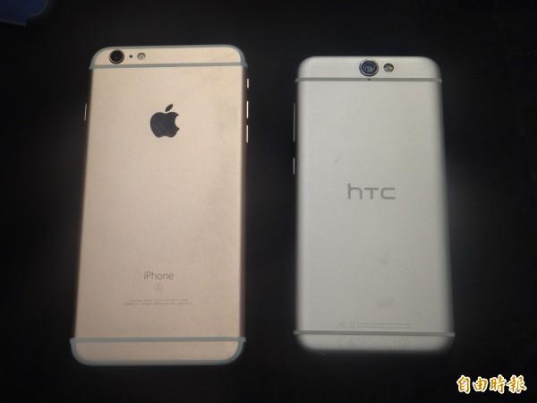HTC A9抄蘋果? 董俊良:是蘋果抄我們