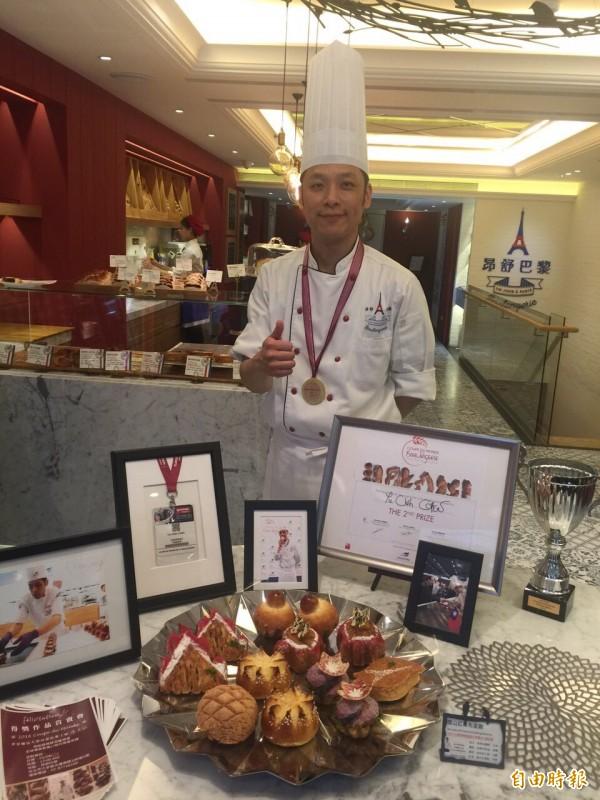 統一集團昂舒巴黎 獨家販售世界麵包大賽得獎作品
