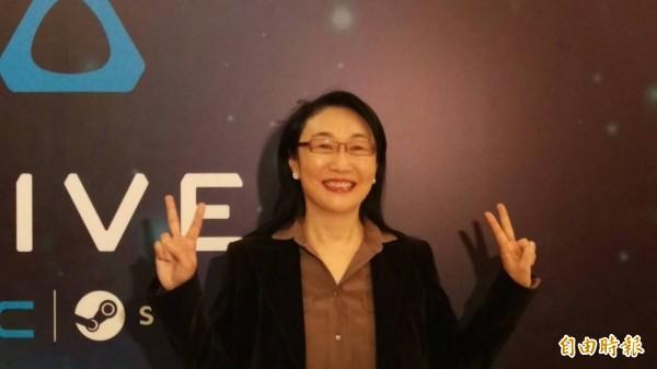 王雪紅:今年是VR元年