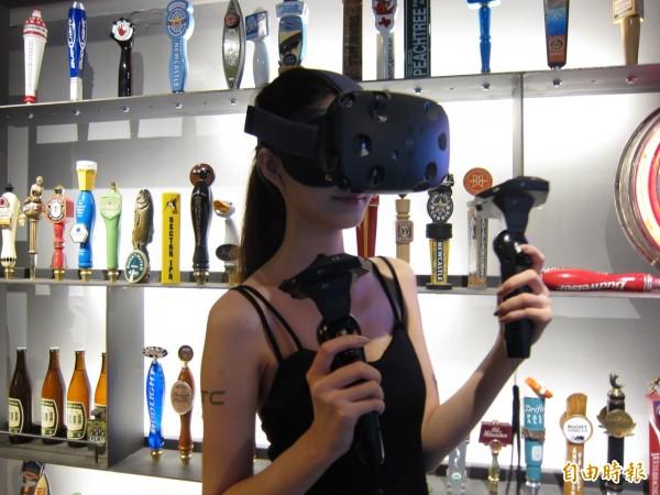 宏達電受惠VR熱 重返百元關卡
