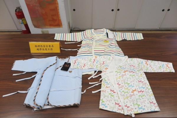市售嬰幼兒服飾 繩帶長度不符具潛在危險