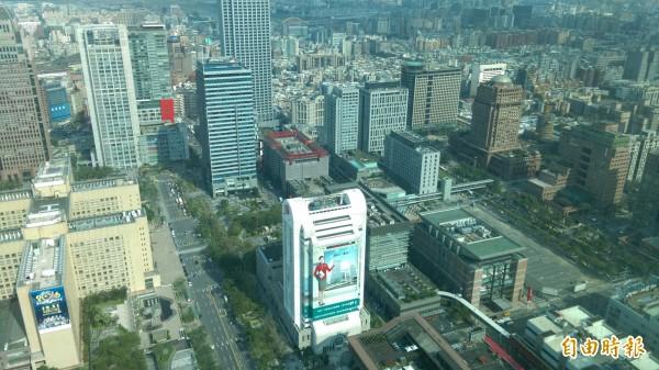 全球最貴商辦租金在中環 每坪均價達28K