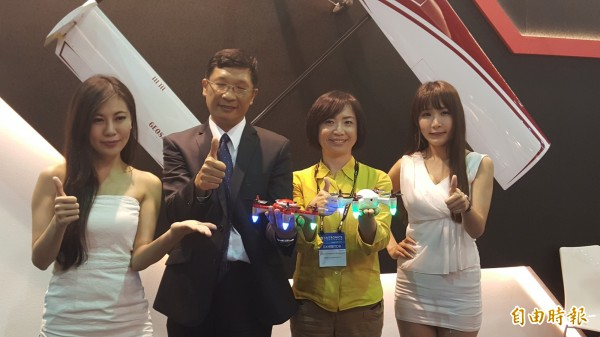 經緯航太推出消費型無人機 明年第一季量產