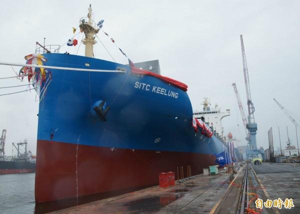 劍艏設計引領風潮   台船:節能環保船是趨勢