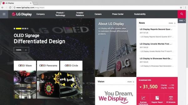 LGD在中國投資OLED廠,最主要目的是.....