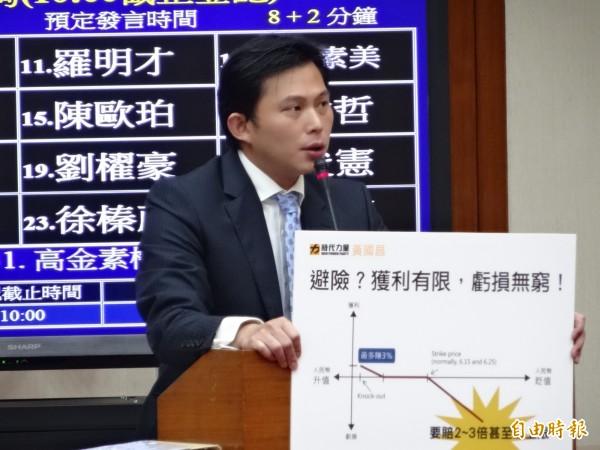 報告成剪貼簿?黃國昌:金管會研究抄中國網路新聞