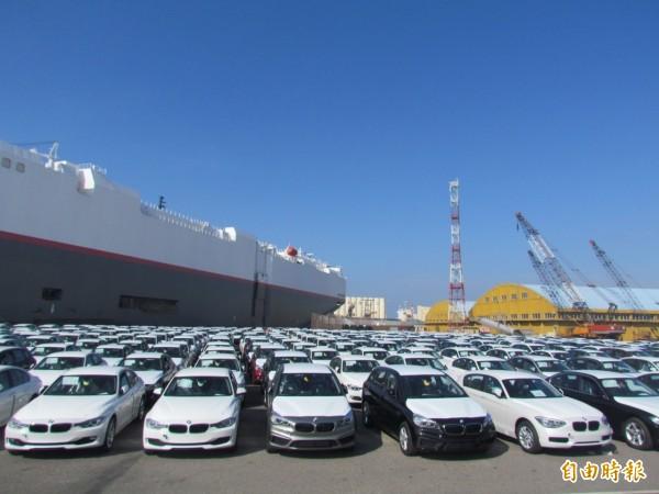 小客車前7月進口創新高 平均單價約80萬元