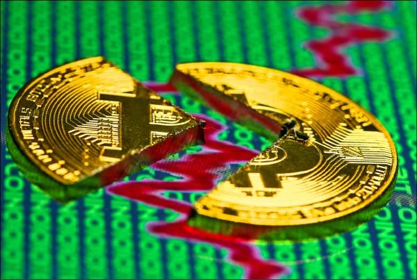 《國際現場》數位貨幣市值蒸發1600億美元