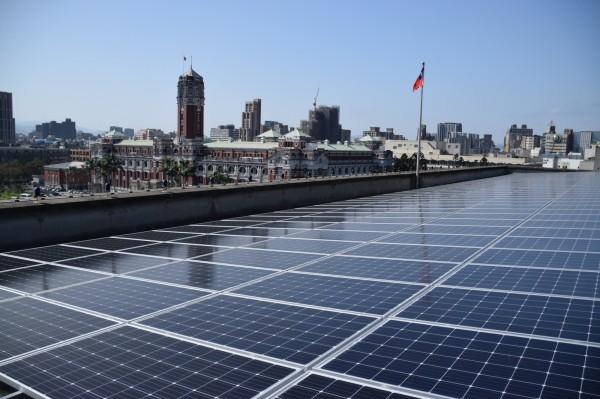 國發會屋頂太陽能板建置完成 3月完成併聯