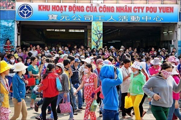 越南廠五連罷工 傳寶成擬轉向印緬擴廠