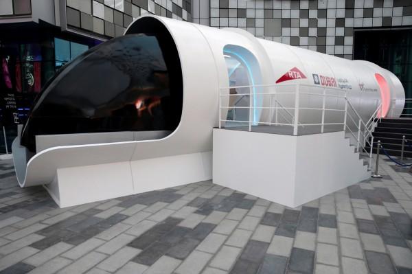 英維珍集團與杜拜環球港務聯手打造超迴路列車 時速逼近1千公里
