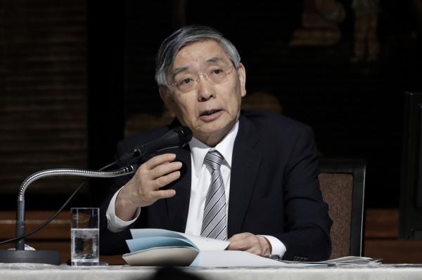 日央行總裁:通膨率未達標 不改寬鬆政策