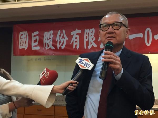 國巨法說 陳泰銘:有信心接手95%日商停產產品