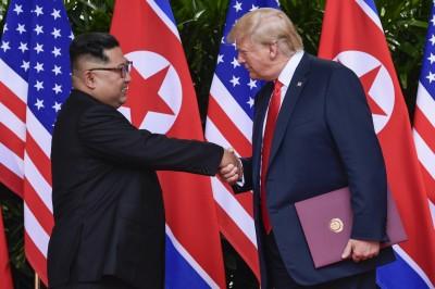 對北韓態度再轉彎 川普:與北韓溝通良好