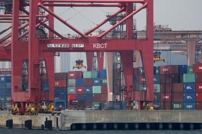 連6個月萎縮 南韓7月出口首度成長